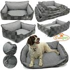 Deluxe Dog Bed Comfortable Orthopaedic Foam Sofa Puppy Pet Cat Cushion Mattress