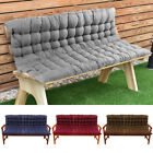 2/3/4 Seater Bench swing  Seat Cushion Chair Patio Pad Garden Furniture  Outdoor
