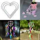 Heart Metal Dream Catcher Dreamcatcher Ring Macrame Crafts Hoop DIY Accessory