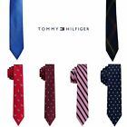 NWT TOMMY HILFIGER Boys Red, Blue, Pink or Green Printed Tie One Size 8-20