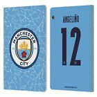 MAN CITY FC 2020/21 PLAYERS HOME KIT 2 LEATHER BOOK CASE HUAWEI XIAOMI TABLET