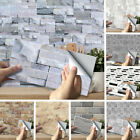 Diy 3d Self Adhesive Wall Tile Sticker Vinyl Bathroom Kitchen Home Decor Hot