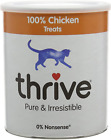 Thrive Cat 100% Chicken Treats Maxitube, 200G