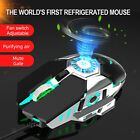 USB Wired RGB Gaming Mouse with Cooling Fan for Better Game Experience 6400DPI