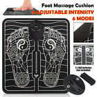 9 Level Strengh 6 Mode EMS Electric Foot Massager Pad Muscle Pain Relax Machine