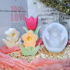 6x silicone flower coaster tray resin casting mold agate epoxy mould craft tool