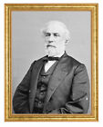 General Robert E. Lee C.S.A. Photograph in a Aged Gold Frame