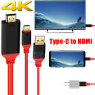3in1 Type-C USB-C to HDMI Charging Cable Adapter For Samsung Galaxy S8/S9 Note 8