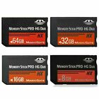 For Sony PSP 1000 2000 3000 8/16/32GB 64GB MS Memory Stick Pro Duo Flash Cards
