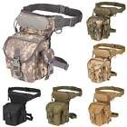 Tactical Drop Leg Bag Thigh Waist Pouch Motorcycle Military Pack Outdoor Hiking