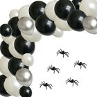 HALLOWEEN BALLOON ARCH GARLAND KIT HORROR PARTY DECORATIONS BANNER SET