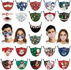 Christmas Face Mask Reusable Washable Protective Breathable Covering For Adults