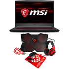"MSI GF65 Thin Intel Core i5/i7 NVIDIA GTX/RTX 15.6"" FHD 144Hz Laptop"