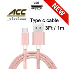 For Samsung Galaxy A11 A01 A51 A71 Type-C 3/6/10 FT Charging Cable Charger
