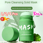 Green Tea Purifying Clay Stick Mask Oil Control Anti-Acne Eggplant Solid Fine