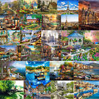 Painting By Numbers Kit DIY House View Canvas Oil Wall Art Picture Home Decor