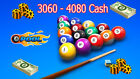 8 Ball Pool ||Legit 100%|| Coins & Cash (500M - 10Billion) & (1200 - 24600)