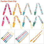 Rope Nipple Strap Colorful Soother Baby Teething Pacifier Chain Dummy Clips