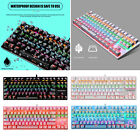 Punk K550 Mechanical Gaming Keyboard 87 Keys RGB LED Backlit Wired Keyboard