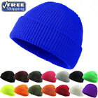 2020 Men's Warm Up Casual Knitted Stretch Fit Beanie Outdoor Cuff Skull Hat Cap
