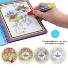 Baby Kid Water Drawing Book Painting Board with Pen Learning Toy Reusable Gift