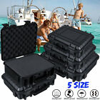 Waterproof Hard Plastic Carry Case Tool Storage Box Portable Organizer