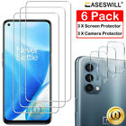 For OnePlus Nord N10 5G N100 Caseswill HD-Clear Tempered Glass Screen Protector