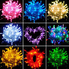 CHRISTMAS LED SNOWING ICICLE BRIGHT PARTY WEDDING XMAS OUTDOOR GARDEN LIGHTS
