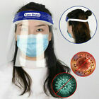 Safety Face Shield Full Face Clear Anti Fog Transparent Work Industry E 260