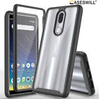 For Coolpad Legacy Case Full-Body Clear Back Hybrid Shockproof Phone Cover