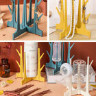 Cup Drying Rack Drainer Stand Large Capacity Tree Shape Retractable Detachable