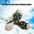 Ice Crampons Cleats Anti-slip Shoes Spike Grips Boots Traction Hot Grippers
