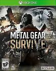 Metal Gear Survive (Microsoft Xbox One, 2018) - FACTORY SEALED