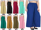 Cotton Palazzo Wide Pant Belly Dancing Costume Casual Wear Palazzo Salwar Pant