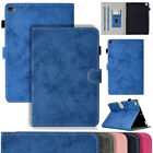 For iPad 2 3 4 5 6 Gen Magnetic Flip Stand Case Classic Canvas Card Slot Cover