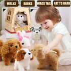 Electronic Interactive Puppy Dog Pet Soft Plush Animal Robot Kids Baby Toys Gift
