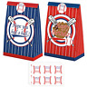 24 Pack Baseball Party Candy Favor Bags with Stickers, Baseball Goodie Gift Bags
