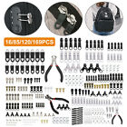 Removable Zipper Slider Repair Instant Pull Heads DIY Fix Kit Rescue Replacement