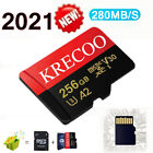 Micro SD Card 64GB 128GB 256GB SDHC CLASS10 Card with Free Adapter For Phone Car