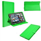 Universal Flip Folio Leather Stand Case Cover 7 & 10 inch For All Android Tablet