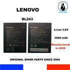 BATERIA GENUINA BL243 LENOVO LEMON K3 NOTE K50-T5 A7000 A7600-M OEM 3000mAh NEW