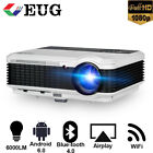 Android 6.0 Projector Wireless Blue-tooth Wifi 1080P Video Movie Black Friday US