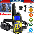 1000Yards Dog Shock Training Collar Remote Rechargeable for Large Med Small Dogs