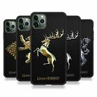 OFFICIAL HBO GAME OF THRONES SIGILS FIT HYBRID ICED CASE FOR APPLE iPHONE PHONES