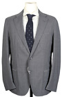 NWT - Salvatore Piccolo – Gray Lightweight Wool Blazer, Size 40, Made in Italy