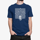 Tooth Face Abstract Art Mens 100% Cotton T-Shirt Tee