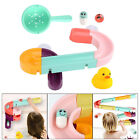 Baby Bath Toys DIY Assembling Track Shower Games Swimming Pool Tools for Kid