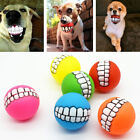 Indestructible Solid Rubber Ball Dog Toy Training Chew Play Fetch High