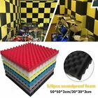 5/8pc Sound-proof Foam Acoustic Panel Sound Absorbent Foam For KTV Studio Room