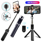 3in1 Extendable Wireless Bluetooth Remote Selfie Stick Tripod Phone Holder Stand